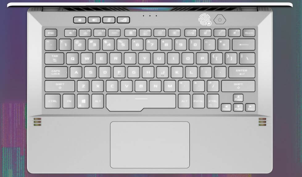 Asus ROG Zephyrus G14 2021 Keyboard