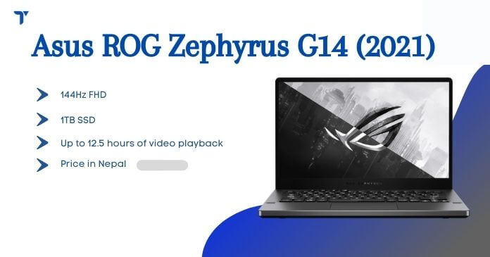 Asus ROG Zephyrus G14 2021 Price in Nepal