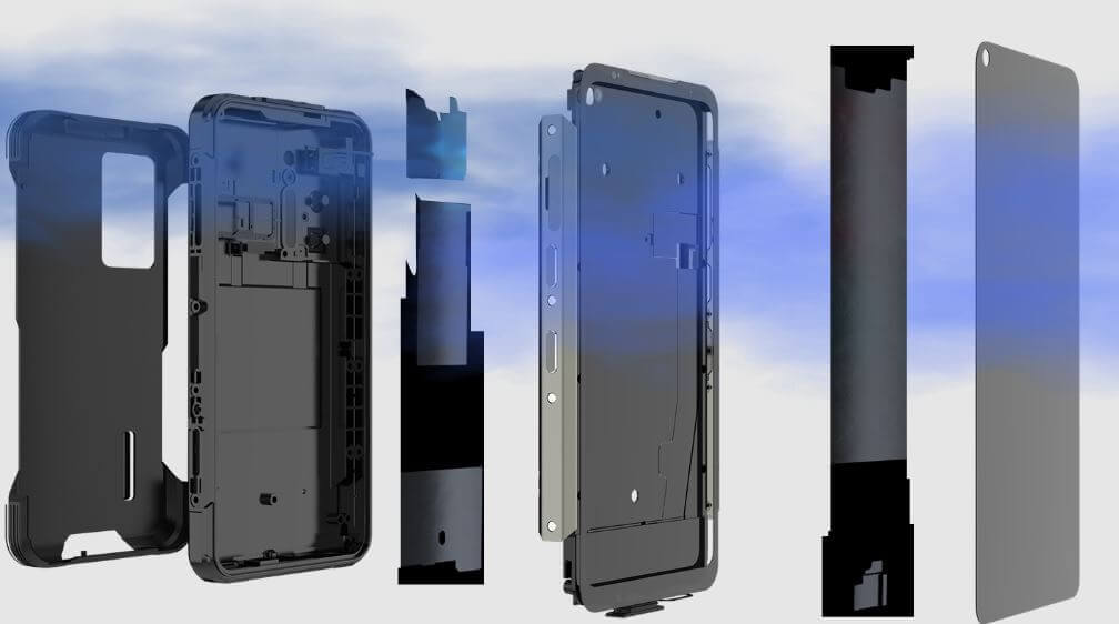 Doogee S97 Pro Intelligent Cooling System