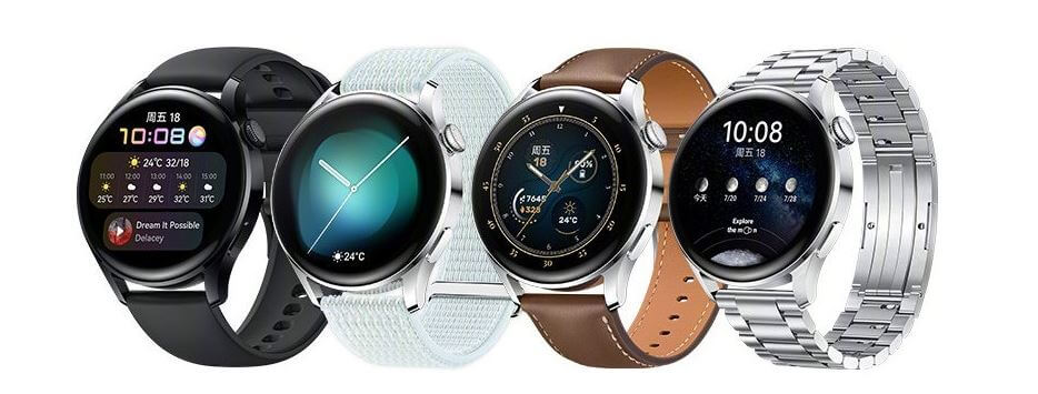 Huawei Watch 3 Design and Build Quality