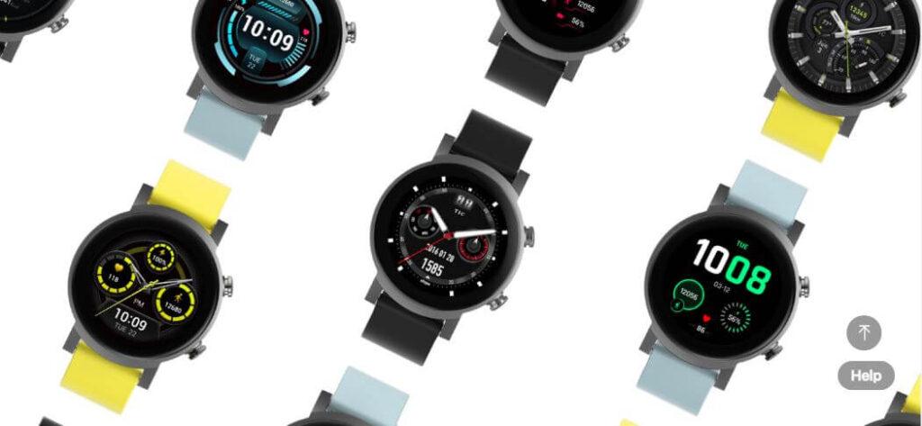 Mobvoi TicWatch E3 Watch Faces