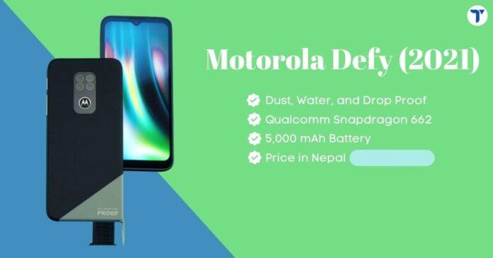 Motorola Defy 2021 Price in Nepal