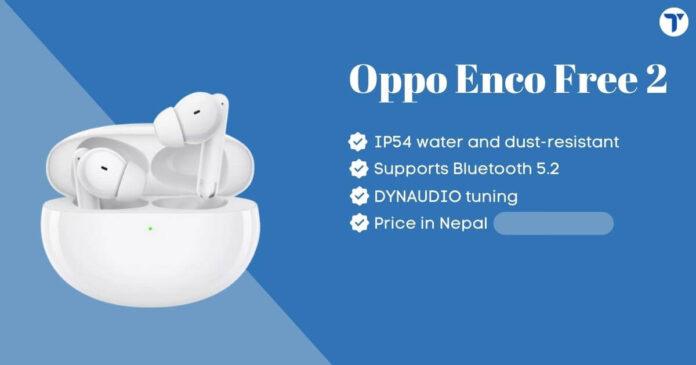 Oppo Enco Free 2 Price in Nepal