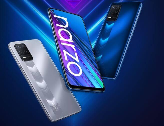 Realme Narzo 30 5G Design and Build Quality