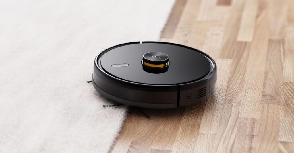 Realme TechLife Robot Vacuum Design
