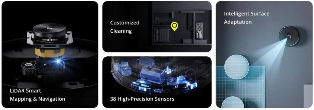Realme TechLife Robot Vacuum Features