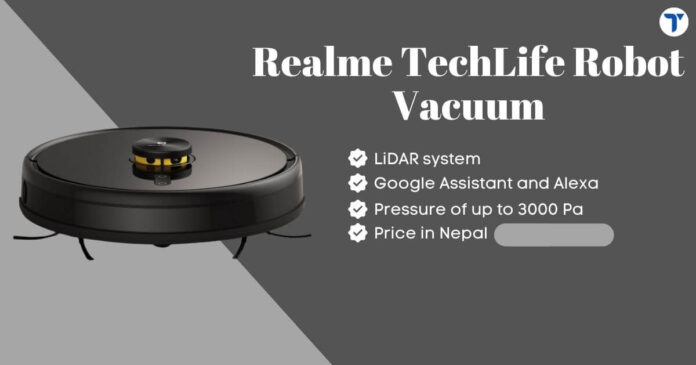 Realme TechLife Robot Vacuum Price in Nepal