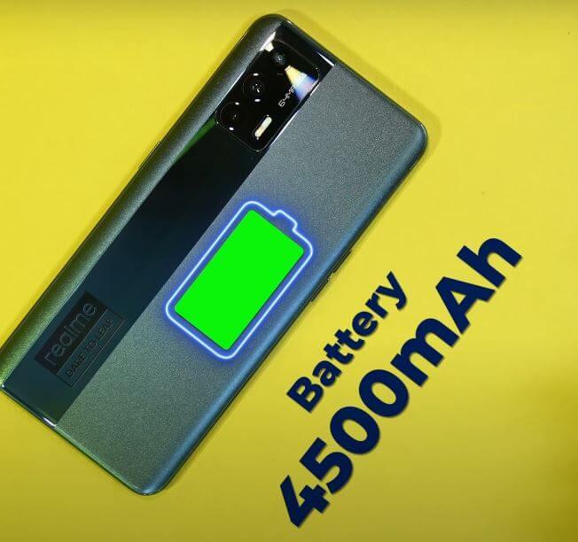 Realme X7 Max 5G Battery