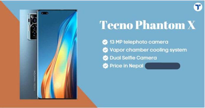 Tecno Phantom X Price in Nepal