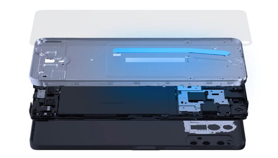 Vivo Y70t Cooling System