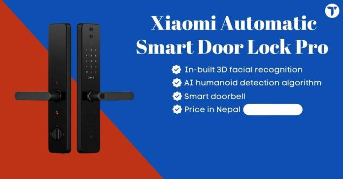 Xiaomi Automatic Smart Door Pro Price in Nepal