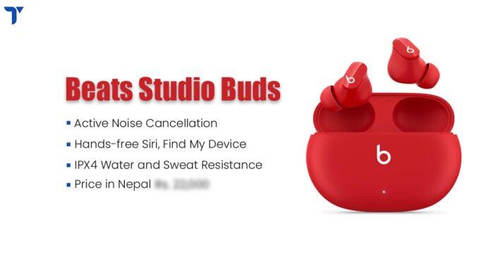 Beats Studio Buds Price in Nepal, Specs, Availability
