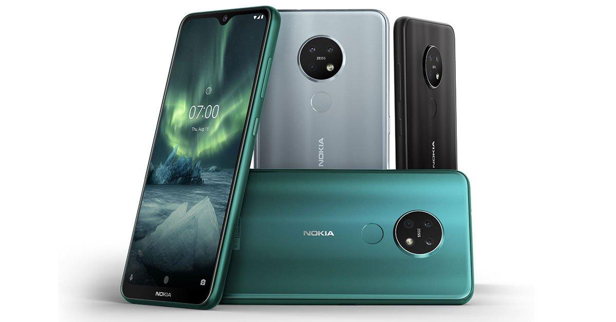 Nokia 7.2 Design