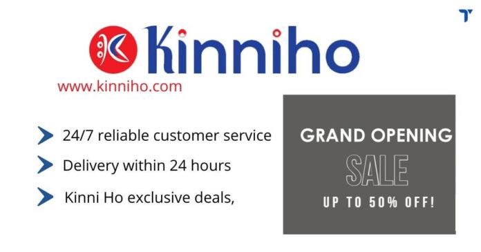 Kinniho new ecommerce in Nepal