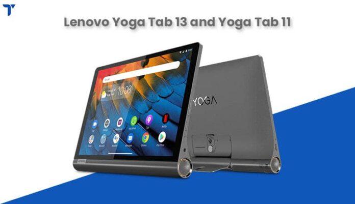 Lenovo Yoga Tab 13 and Yoga Tab 11 Unveiled