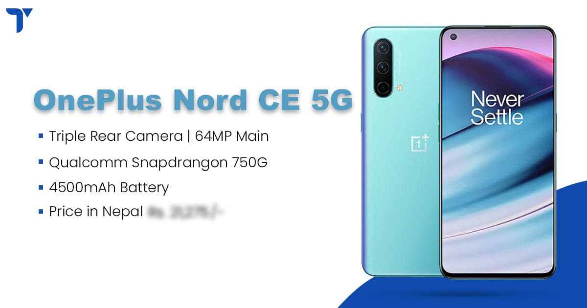 Oneplus Nord Ce 5g Price In Nepal Specs Availability