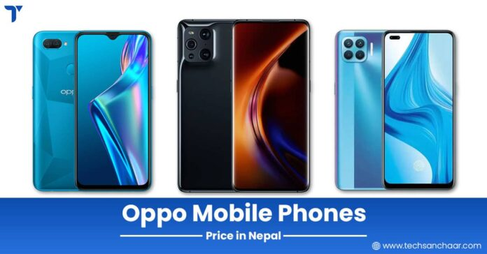 Official: Oppo Mobiles Price in Nepal