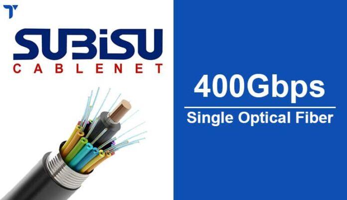 Subisu 400Gbps Single Optical Fiber Coming Soon