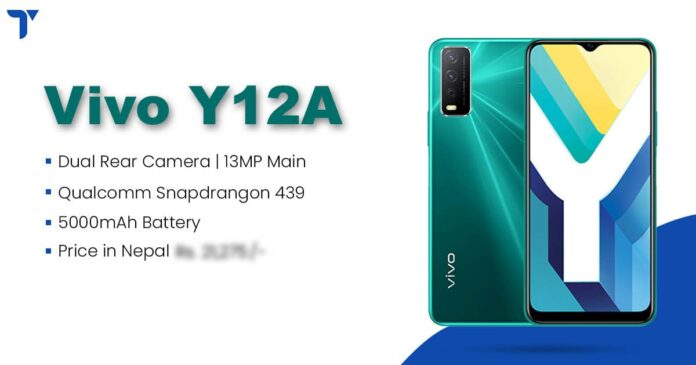 Vivo Y12A Price in Nepal, Specs, Features, Availability