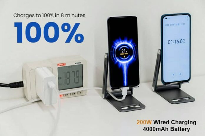 Xiaomi Introduces 200W Hypercharge | World's Fastest Charger