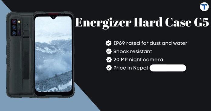 Energizer Hard Case G5 Price in Nepal