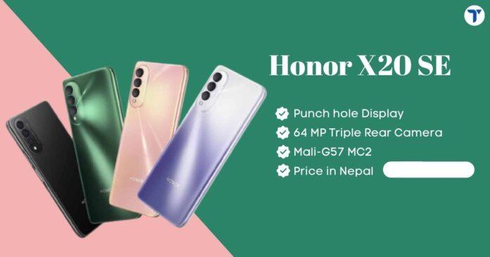 Honor-X20-SE-Price-in-Nepal