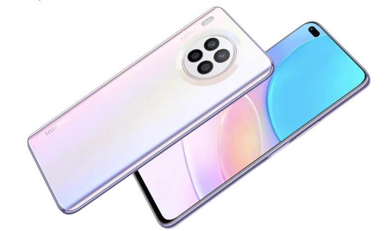 Huawei nova 8i Design and Build Quality