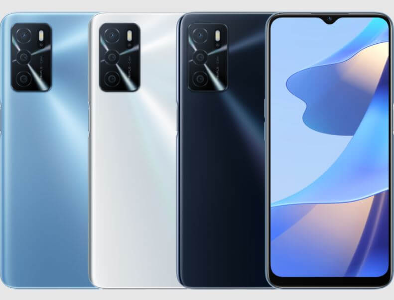 Oppo A16 Design and Build Quality