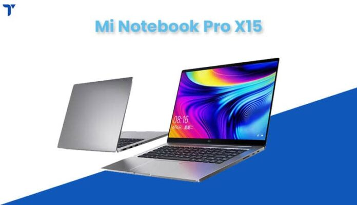Mi Notebook Pro X15 Price in Nepal, Specs, Availability